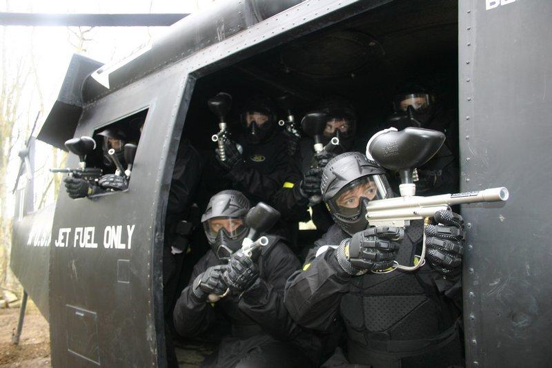 Black Hawk Down game zone