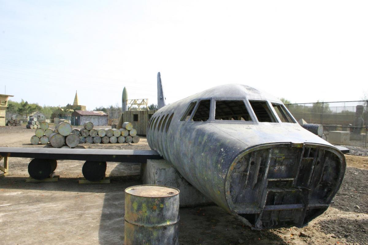 Pablo Escobars Jungle Airstrip game zone